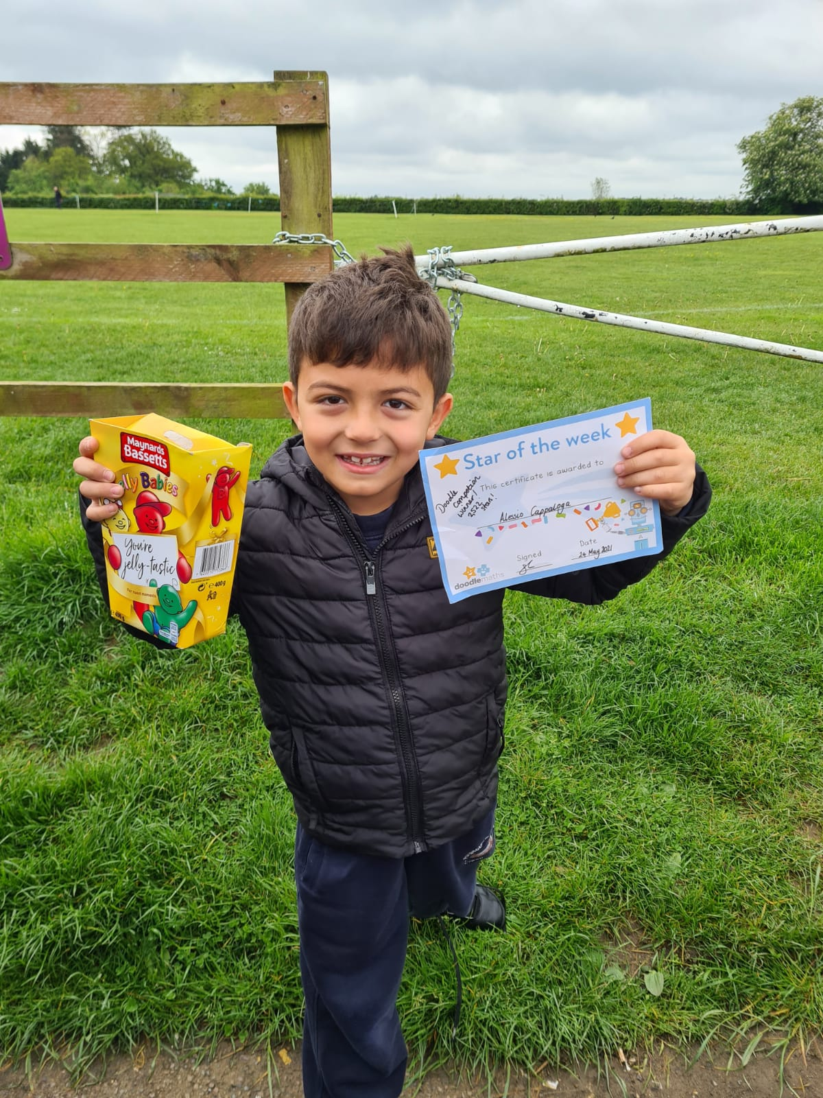 Doodle Competition Winners